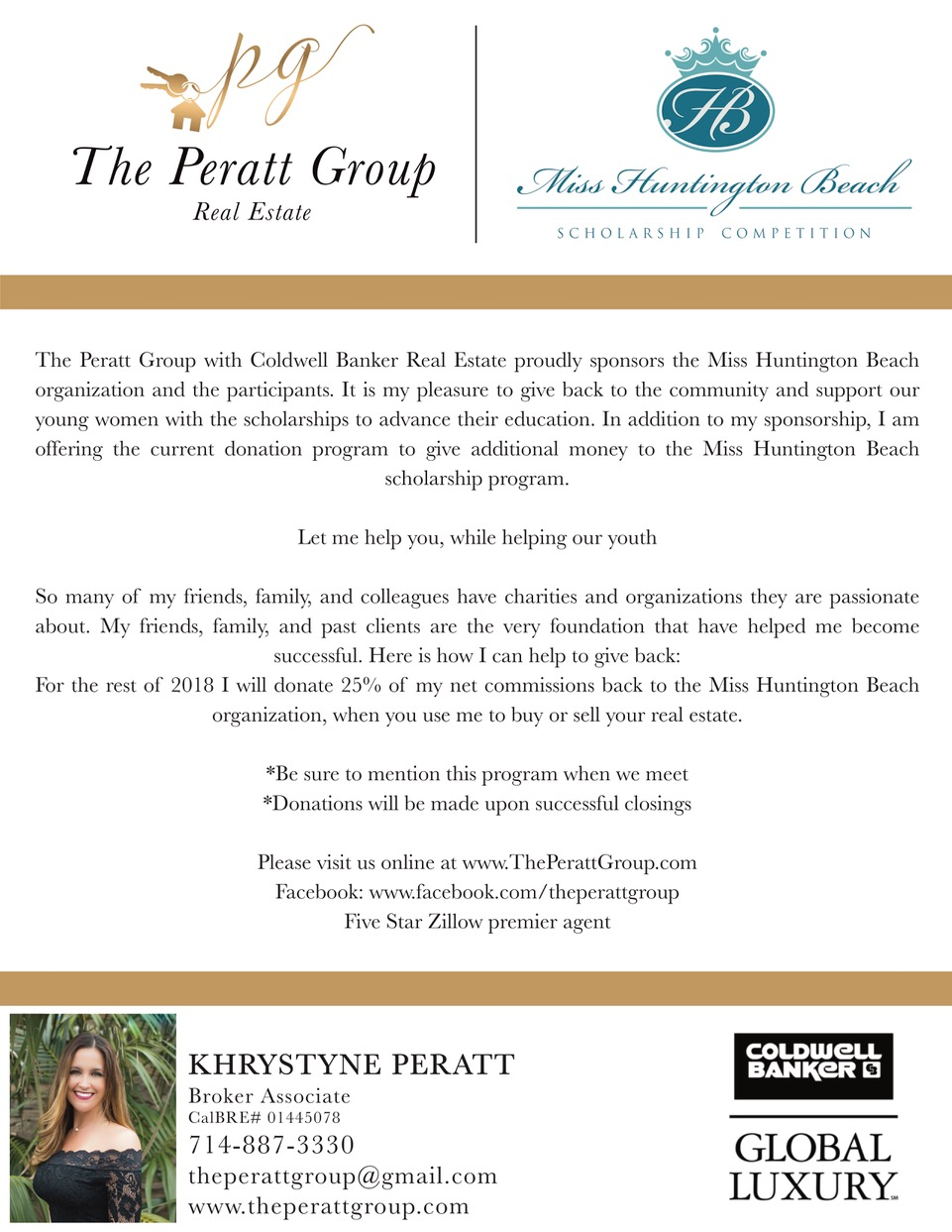 Events | Khrystyne Peratt<br>Coldwell Banker Residential